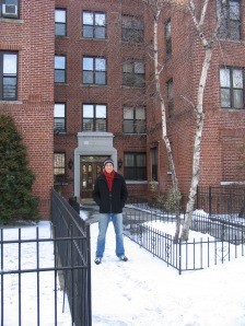 Front of Brooklyn condo