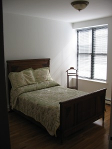 Partially furnished renter's room