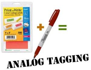 Analog Tagging