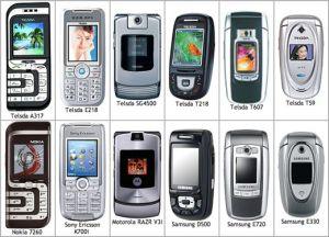 Phones galore