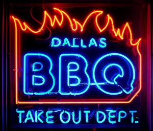 Not my pic of Dallas BBQ
